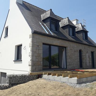 Rénovation d''une maison à Saint Cast le Guildo